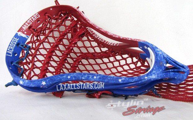 Stylin Strings Custom Lax All Stars Dye Job
