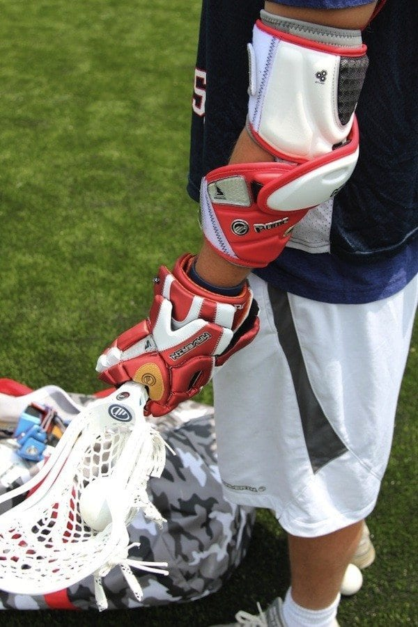 Billy Bitter Maverik lacrosse 2012 gear
