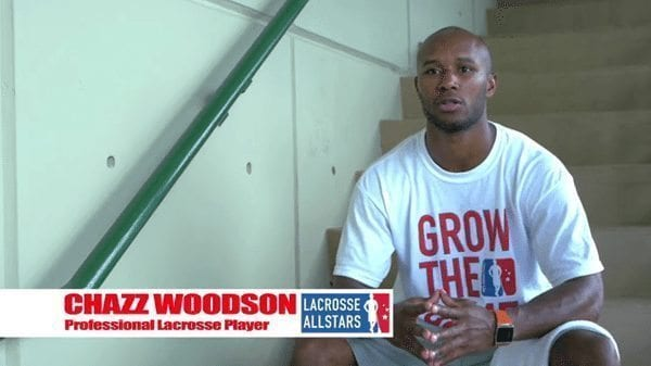 Chazz Woodson Grow The Game lacrosse