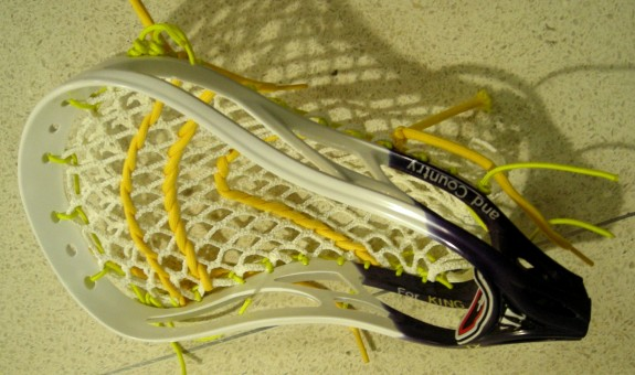 Thailand Lacrosse Dye jOb Warrior lax Evo 3