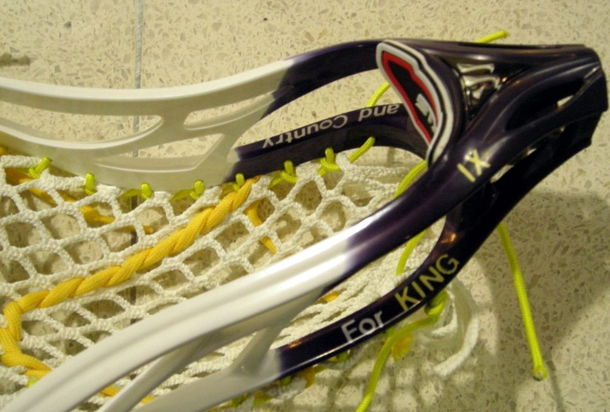 Thailand Lacrosse Dye jOb Warrior lax Evo 3