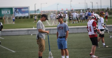 Trevor Tierney and Dylan Sheridan DU Lacrosse Camp