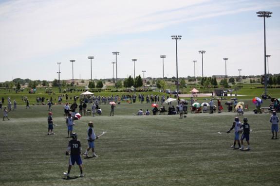 Denver Lacrosse Team Camp facility