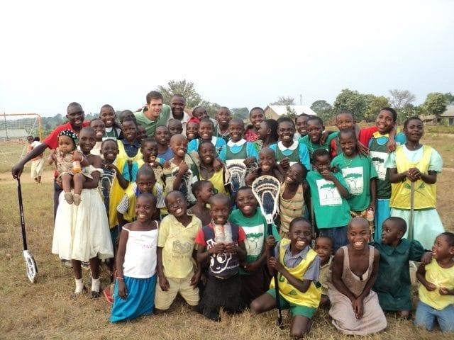 Ryan Flanagan at the HOPEFUL school in Uganda