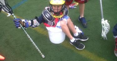 Maximum Lacrosse Camper in a bucket
