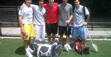 Joe Billy Max Seibald Dom Keith Lacrosse Camp NYC