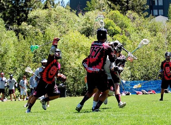 Woozles ride hard lacrosse Tahoe