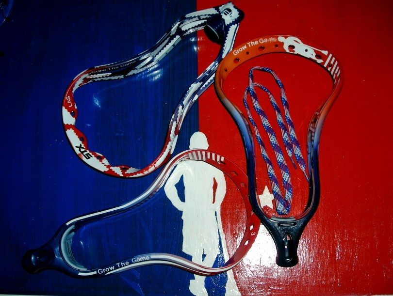 dyed heads laxallstars table lacrosse