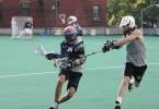 NYC summer rooftop lacrosse PSAL