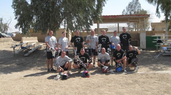 US Military Desert Lacrosse