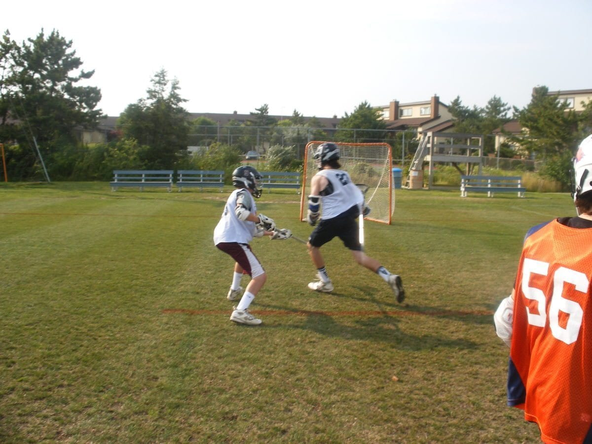 lacrosse camp 1 on 1