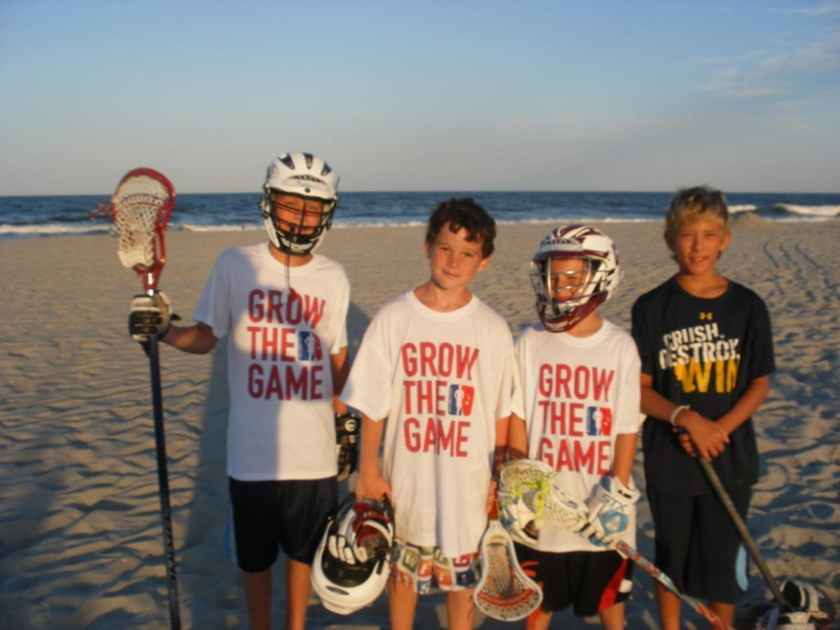 Grow The Game Lacrosse Beach