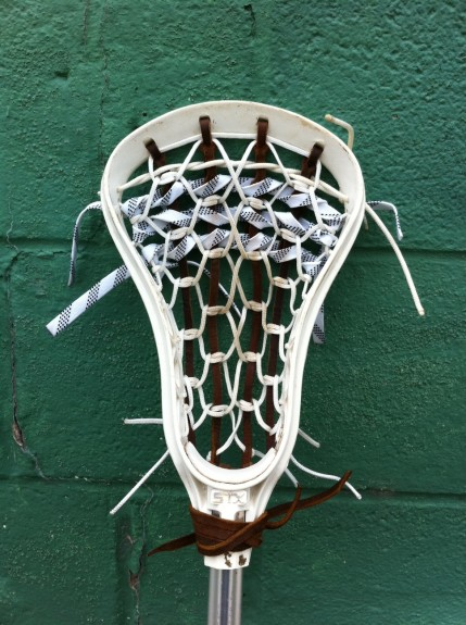 traditional strung Excalibur STX lacrosse