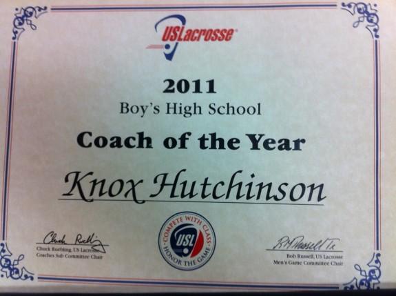 Louisiana Coach of the year