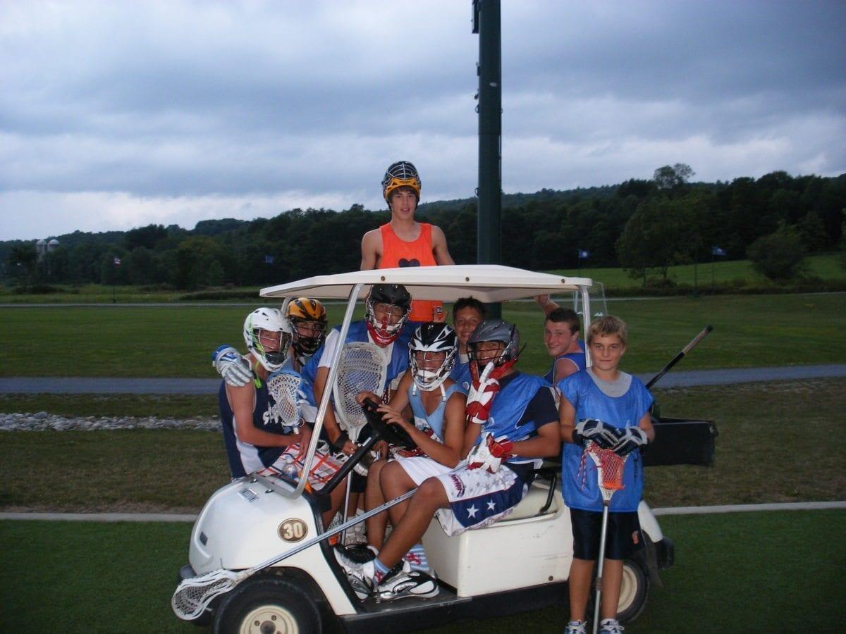 GOlden goal tournament park ProLax Camps clown car
