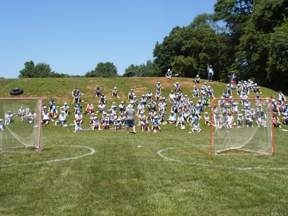 Lax Evo Valley Forge lacrosse camp Doc coach Dougherty campus