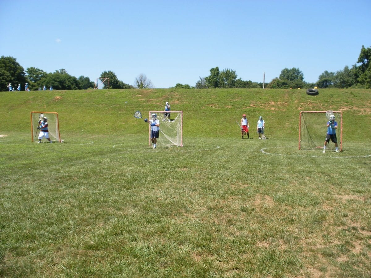Lax Evo Pinnacle Camp Valley Forge Doc Goalies shooting range