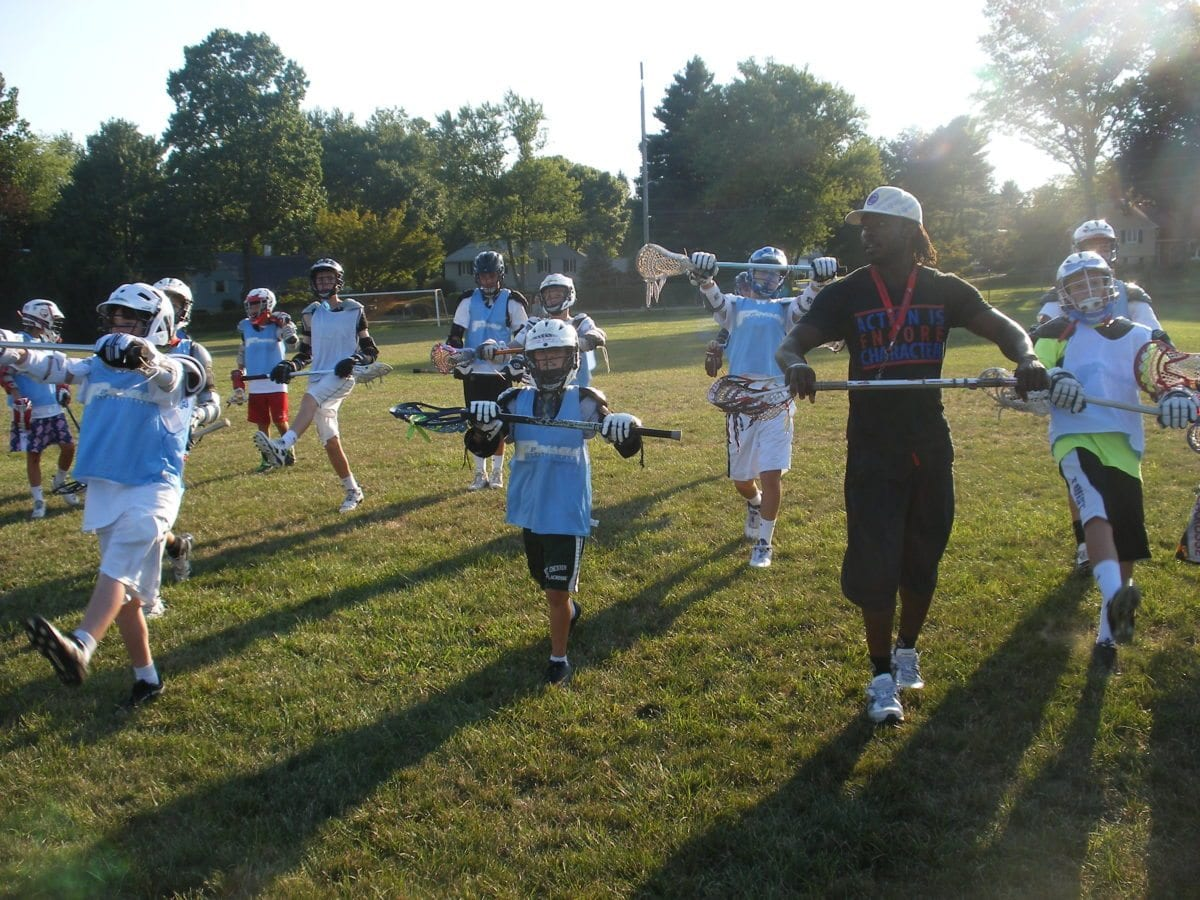 Johnny Christmas leads a dynamic stretch as a counselor Lax Evo