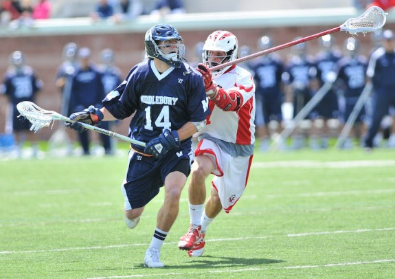 Mike Stone at Middlebury versus Cortland.