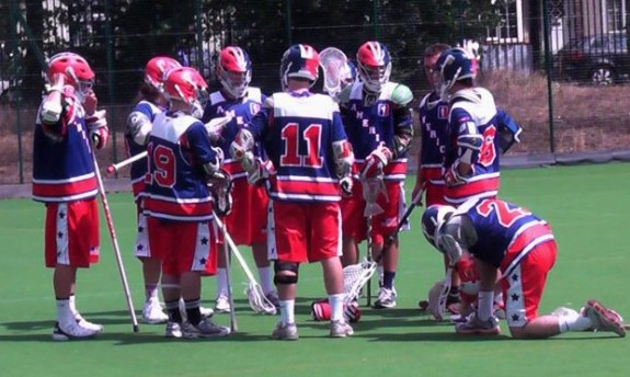 American Revolution Lacrosse in England London Spencer Lacrosse