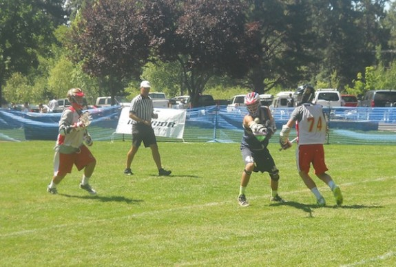 Golden Gate - Rams, U-19 Tahoe Lacrosse Tournament