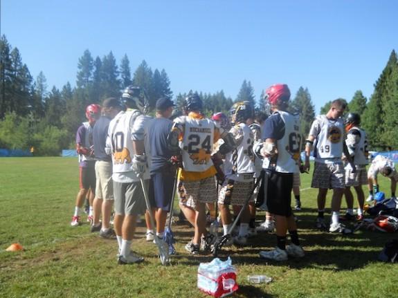 Team NorCal, U-19 Tahoe Lacrosse Tournament