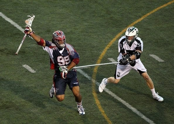 Paul+Rabil+Brian+Karalunas+Boston+Cannons MLL