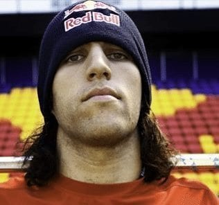 Paul Rabil Red Bull hat