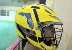 Florida Killer bee lacrosse helmet yellow lax cascade