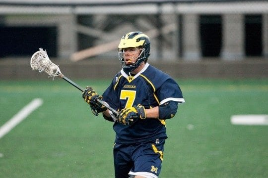 Joe Hrusovsky Michigan Lacrosse