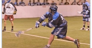 Mike Synek Chicago Outlaws box lacrosse