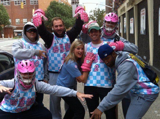 Salt SHakerz Lacrosse Avon Breast Cancer Walk