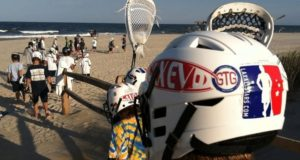 Lax Evo Camp Beach Lacrosse on Vacation New Jersey