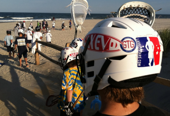 Lax Evo Camp Beach Lacrosse New Jersey