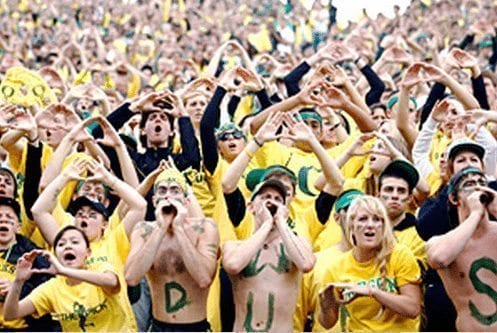 Oregon Student Section
