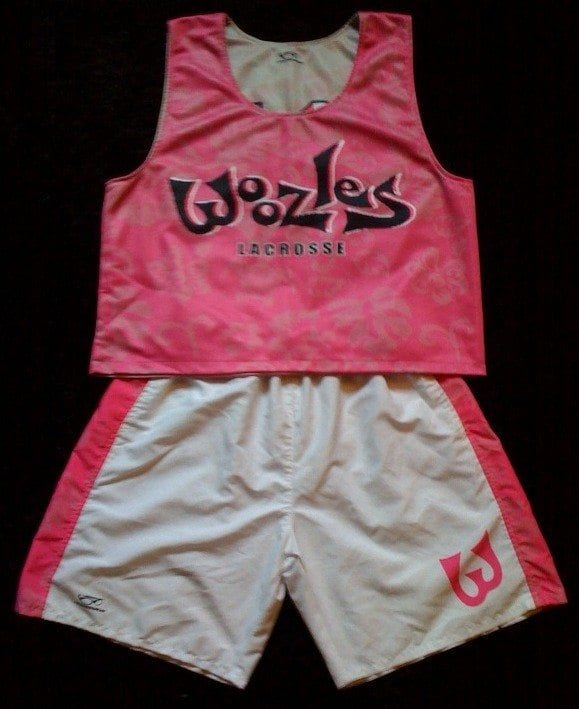 2009 Woozles Lacrosse Club Uniform