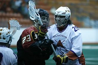 Grant Catalino-six-nations-arrows box lacrosse