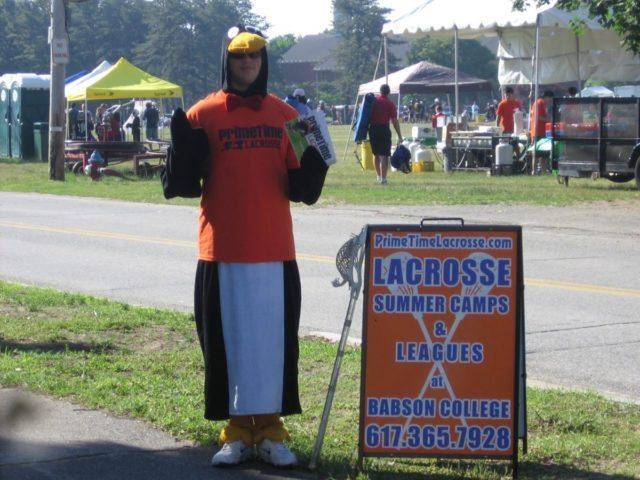 PrimeTime Lacrosse Power Penguin suit