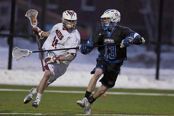 Luke Charest Bates lacrosse lax