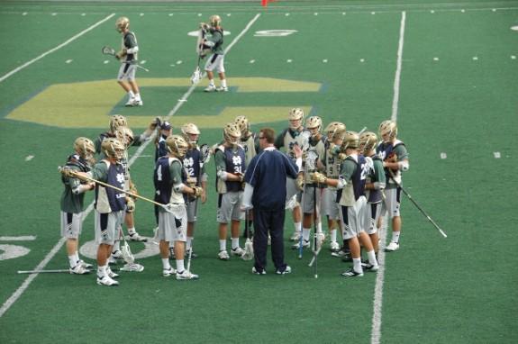 Notre Dame Lacrosse Carmel HS Indiana lax practice