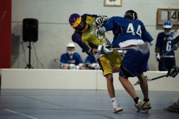Sverige till semi lacrosse em