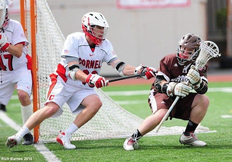 Brown Cornell lacrosse Ivy league 2010