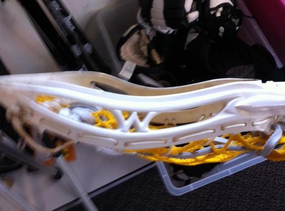 Warrior Cobra lacrosse head old school