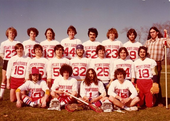 Stony Brook Men's Lacrosse Club Team 1978