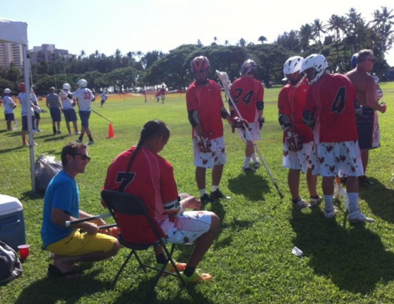 Josh Rottman Jeremy Thompson hawaii lacrosse lax