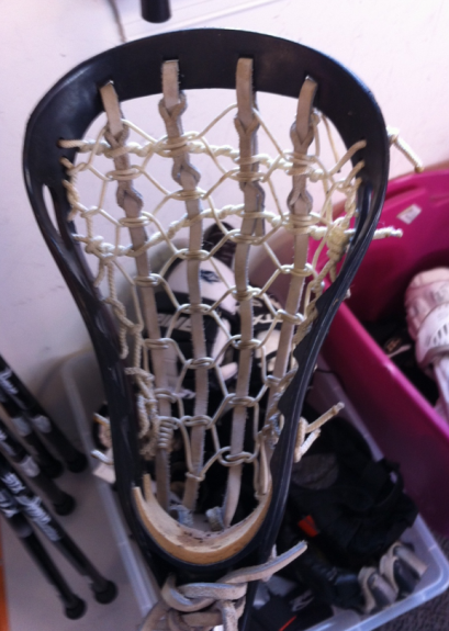 Warrior Predator lacrosse head old school