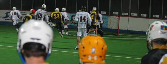 ELL box lacrosse Prague Sports Bats Lacrosse
