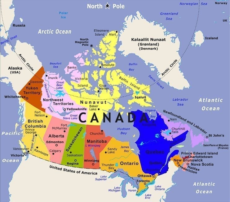 Hot Pot Of Lax The Canadian Lacrosse League Aka CLax Lacrosse - Us government map nll