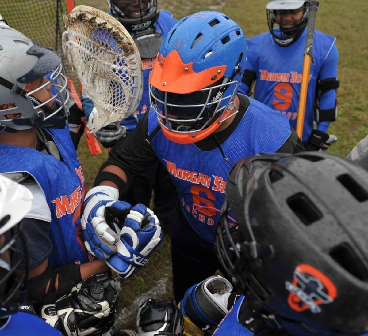 Morgan State Lacrosse team 2011 2012 Ten Bears