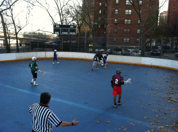 ULax NYC box lacrosse